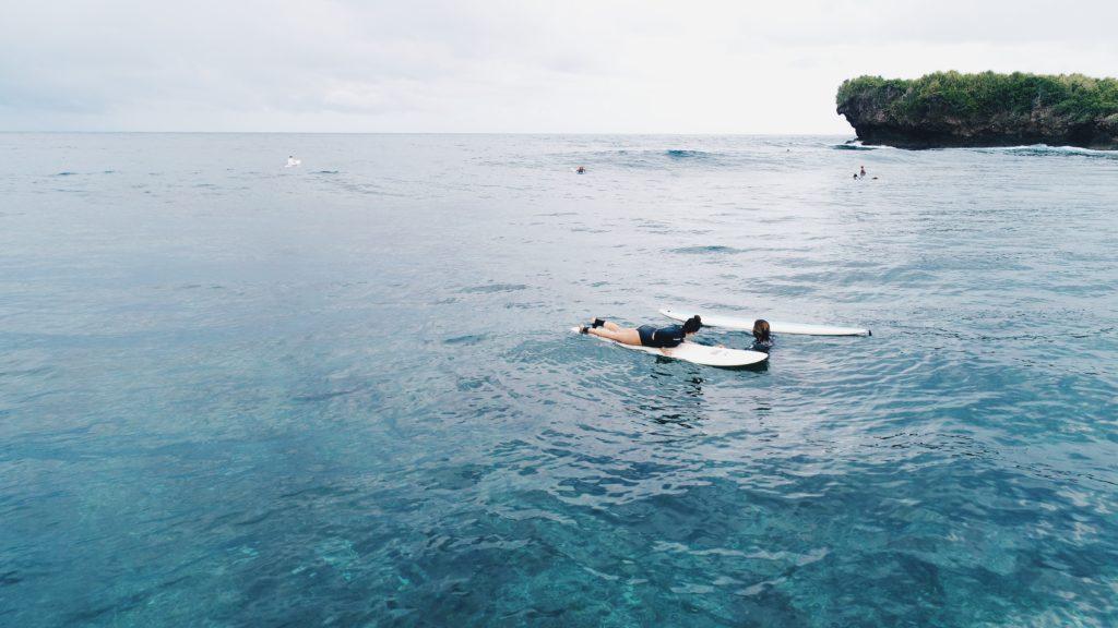 Rock Island surf Siargao