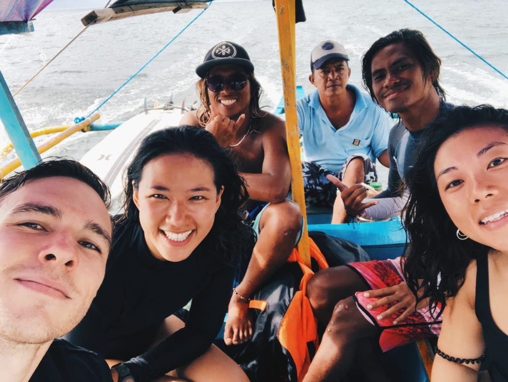 Surf crew Siargao